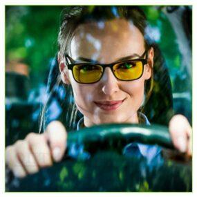 Очки для водителей, Антифары